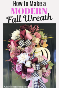 How to Make a Fall Wreath Tutorial