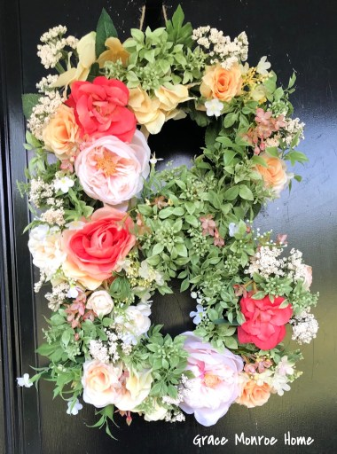 How to Make a DIY Flower Monogram Letter