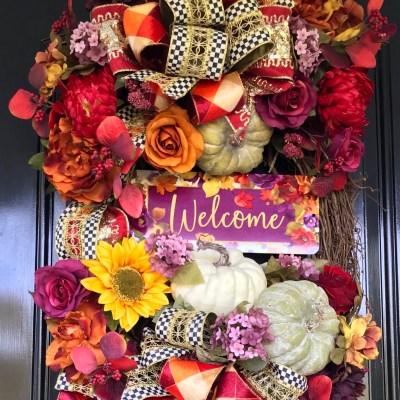 Luxury Fall Wreath