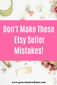 The FIVE Biggest Mistakes Etsy Sellers Don't Know They Are Making
