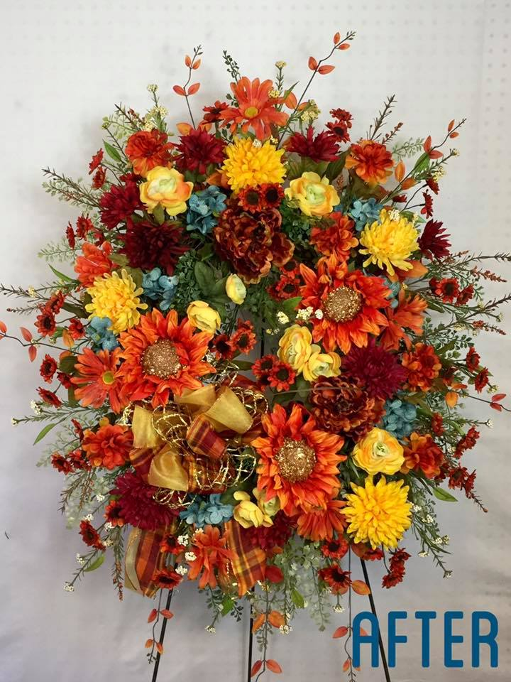 Repurpose an old Wreath - DIY Wreaths