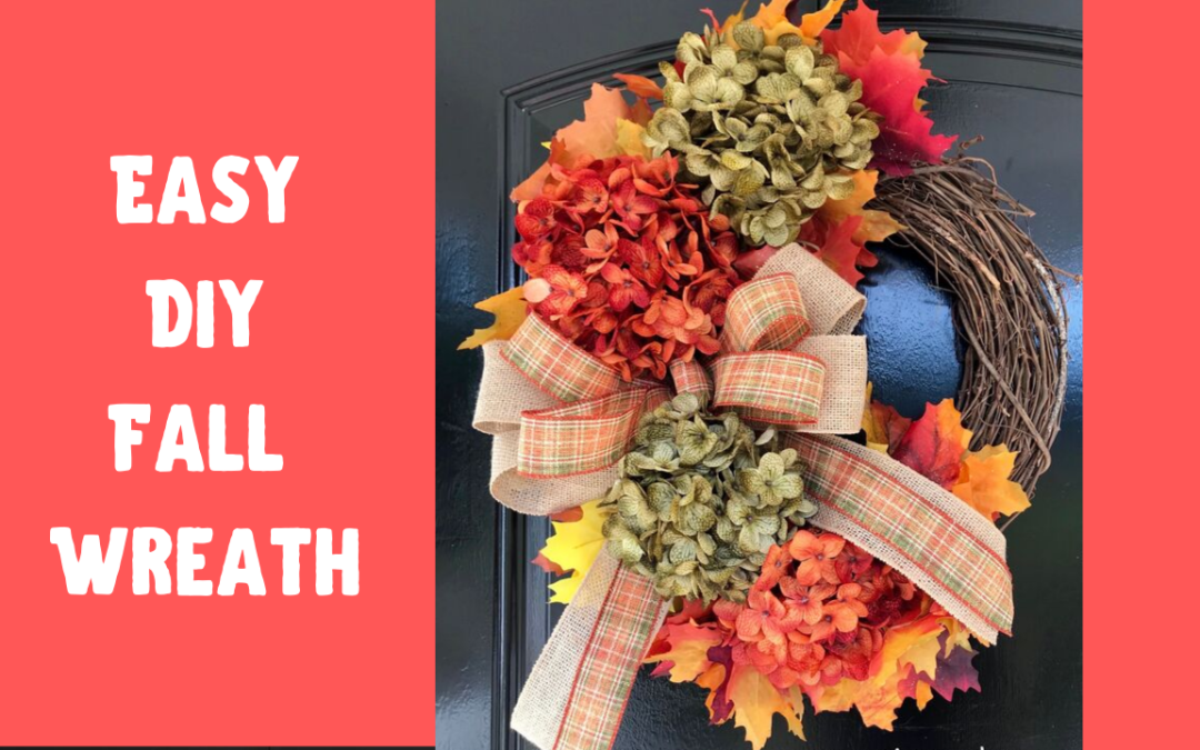 How to Make a DIY Fall Wreath in 15 Minutes