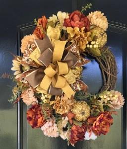 Designer Fall Wreaths by Grace Monroe Home