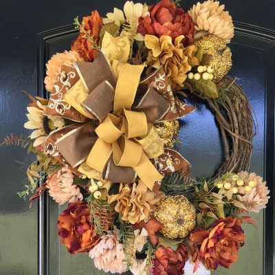 Designer Fall Wreaths by Grace Monroe Home