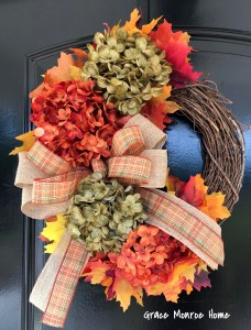 How to Make a Fall Wreath - The Easy Way!