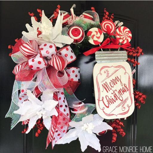 How to Make a Festive Christmas Wreath
