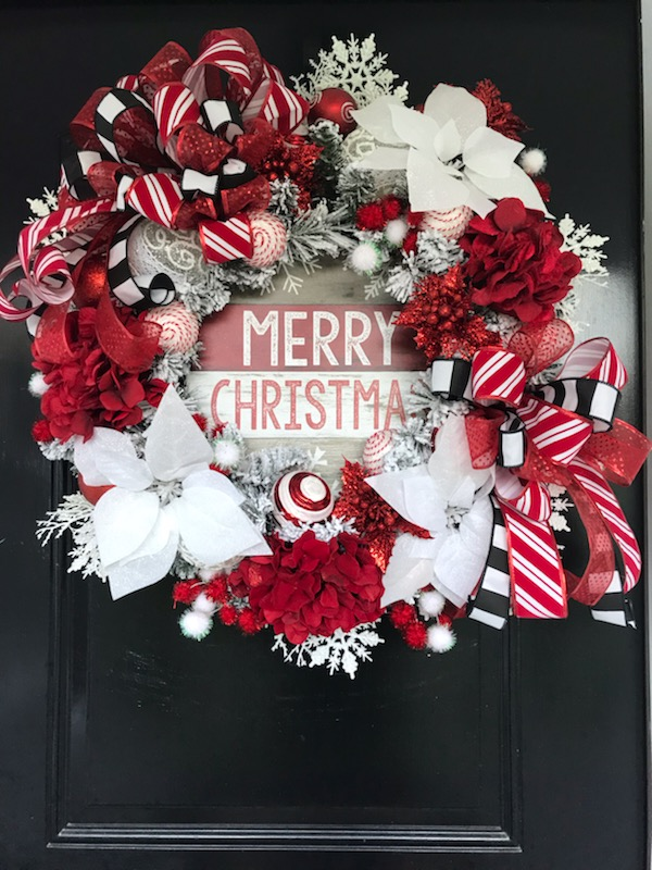 Learn How to Decorate a Christmas Wreath - Holiday Decorating Ideas