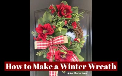 How to Make a Winter Wreath