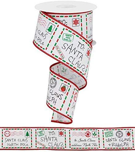 My favorite Christmas Ribbons for Bow Making and Wreaths