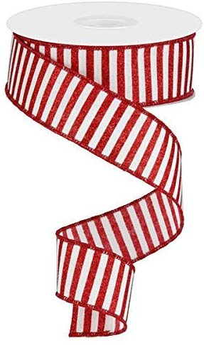 Holiday Ribbon for Decorating Bows, Wreaths, Garlands, Christmas Trees and Swags! #christmasribbon #holidaydecor