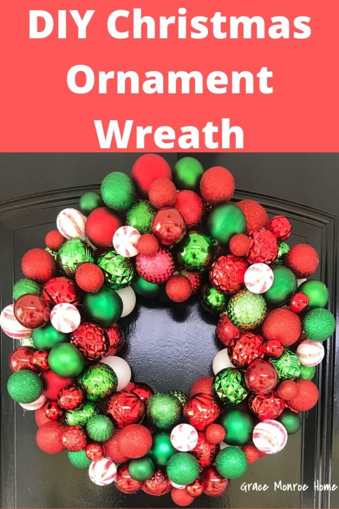 How to Make an Easy and Beautiful Christmas Ornament Wreath