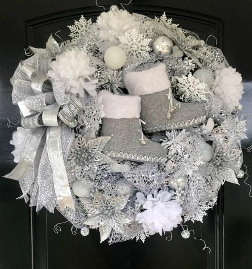 Designer Christmas Wreath by Grace Monroe Home
