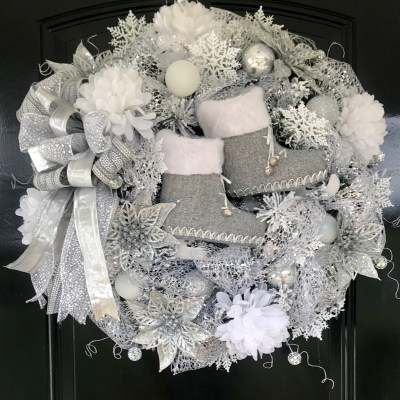 Designer Christmas Wreath by Grace Monroe Home