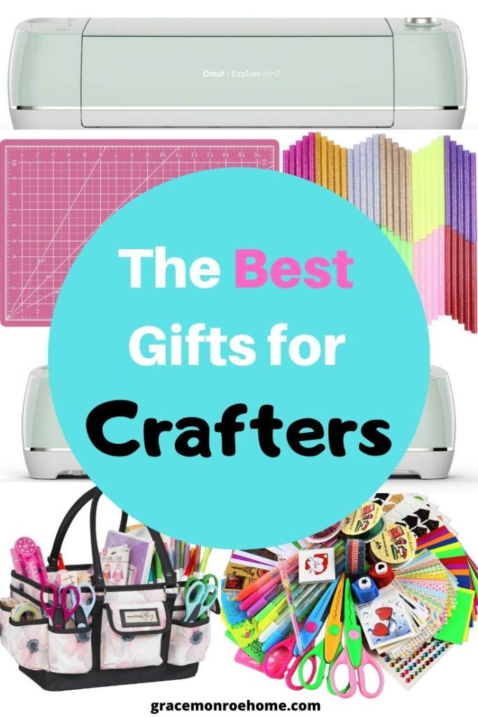 The Ultimate Gift Guide for Crafters #crafting #crafts #holiday #giftguide #gifts #crafter