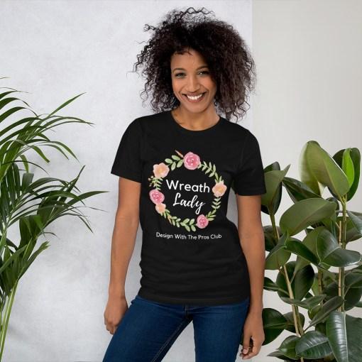 Wreath Lady T-Shirt