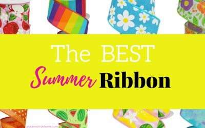 20+ Fabulous Summer Ribbon Finds