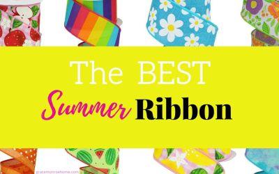20+ Fabulous Summer Ribbon Finds