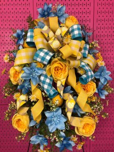 Stunning Summer Wreath with Lemons