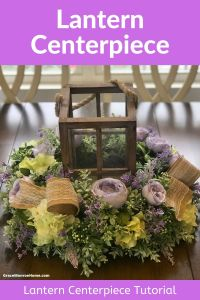 How to Make a Beautiful Lantern Centerpiece