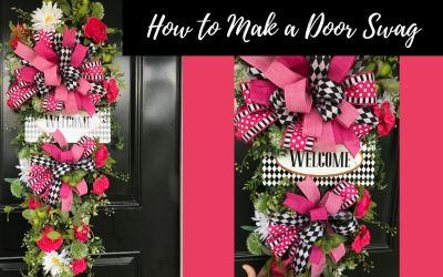 How to Make a Door Swag
