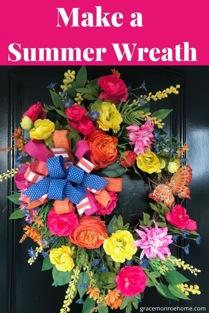 Front Door Wreath Tutorial