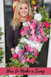 Learn to Make a Beautiful Swag for Your Front Door!