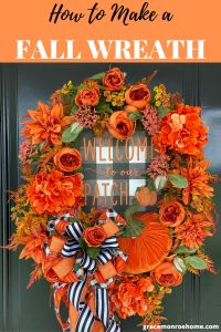 Learn to Make a Fall Wreath for Your Door