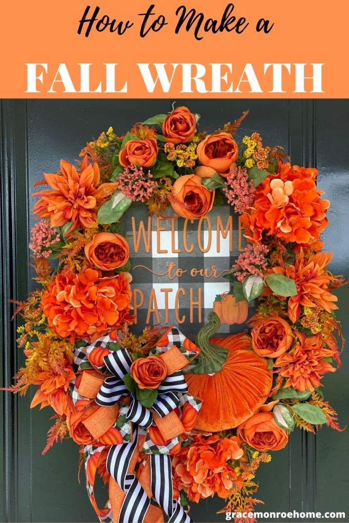 Learn How to Make a Fall Wreath