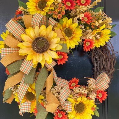 Designer Fall Wreath for Sale