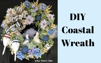 How To Make a Coastal Wreath
