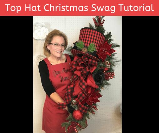How to Make a Christmas Swag Tutorial