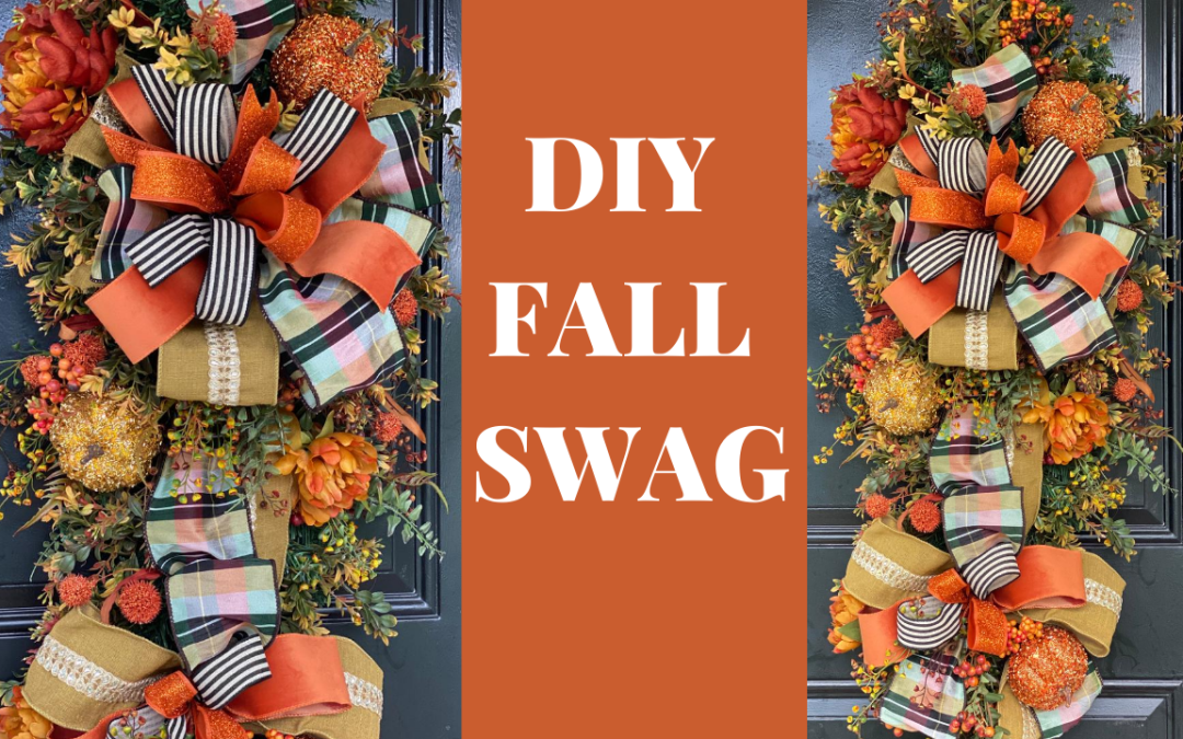 How to Make a Fall Swag
