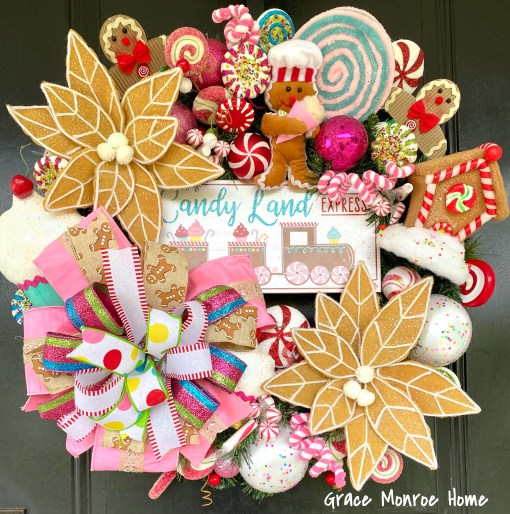 Luxury Christmas Wreath with Candy