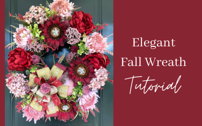 How to Make an Elegant Fall Wreath