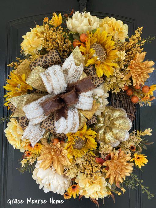 Gold Fall Wreath