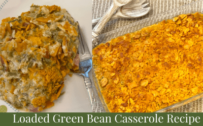 Loaded Green Bean Casserole