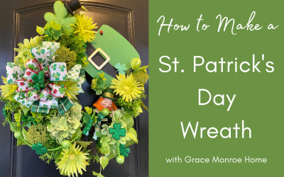 How to Make a St. Patrick's Day Wreath