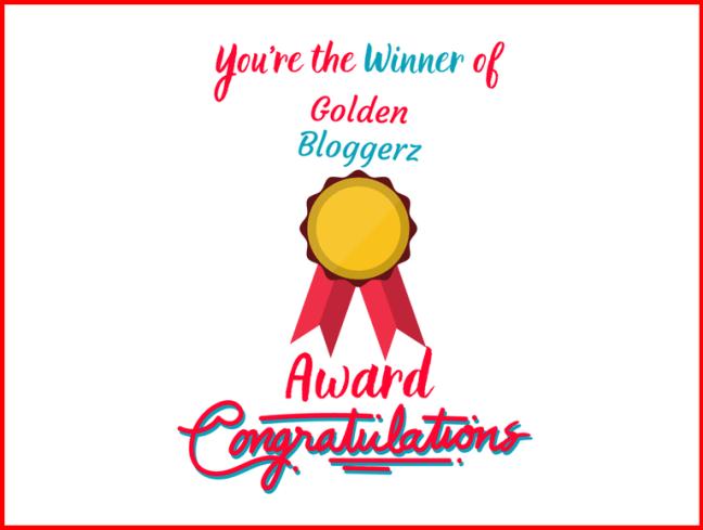 Golden Bloggerz Award✨