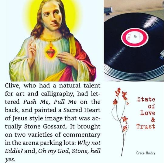 Pearl Jam Religion - Sacred Heart of Stone Gossard