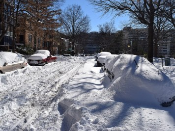 Washington DC Blizzard 2016