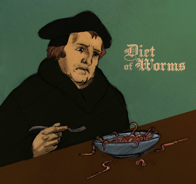 1521 The Diet of Worms
