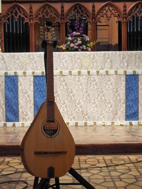 Tairis guitar. Photo by Lynn Morgan.