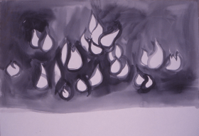 Grace Renzi : N° 122 : 1971/72, 60 x 100 cm.