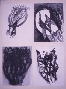 Grace Renzi : N° 128 : 1971/72, each 30 x 25 cm.