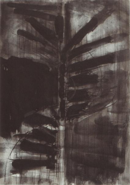 Grace Renzi : N° 241 : 1980's, black ink on paper, 30 x 21 cm.