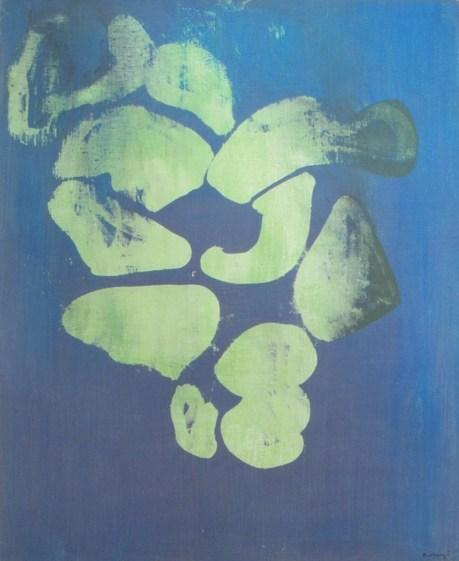 Grace Renzi : N° 292 : 1984, acrylic on canvas, 110 x 91 cm.