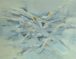 Grace Renzi : N° 35 : 1957/58, oil on canvas, 100 x 115 cm.