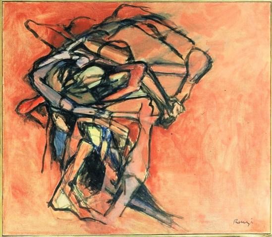 Grace Renzi : N° 44 : 1960, 60 x 100 cm.