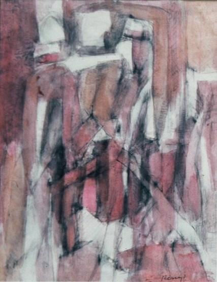 Grace Renzi : N° 55 : 1962, 32 x 25 cm.