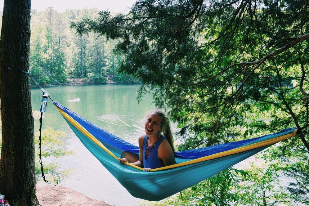 Enoing on the eno river with my best pals.